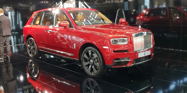 Rolls Royce verkauft so viele Autos wie nie