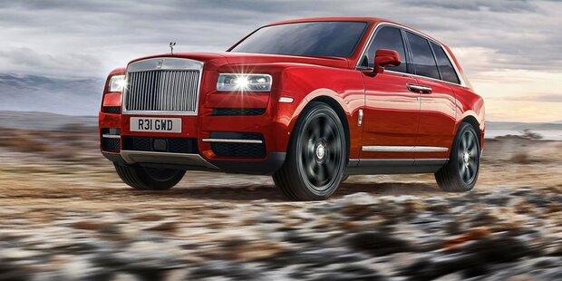 Rolls-Royce greift mit dem Cullinan an