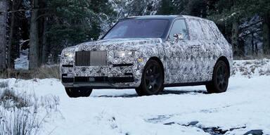 "Rolls Royce greift mit SUV ""Cullinan"" an"