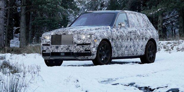 Rolls Royce greift mit SUV