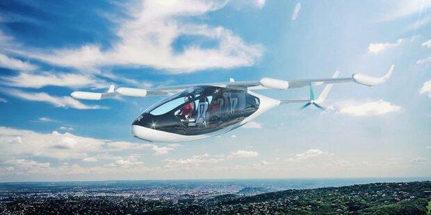 Rolls-Royce zeigt elektrisches Flugtaxi