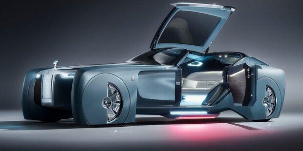 So sieht der Rolls Royce der Zukunft aus