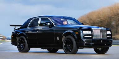 Hier testet Rolls Royce sein SUV