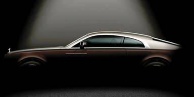 Rolls Royce bringt neues Luxus-Coupé