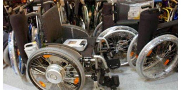 Wegen Trunkenheit im Rollstuhl angezeigt