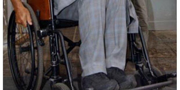 Fahrverbot für betrunkenen Rollstuhlfahrer