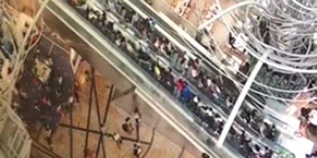 Rolltreppen-Horror fordert 18 Verletzte