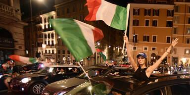 Rom: Corona-Zahlen nach EM-Feier verfünffacht