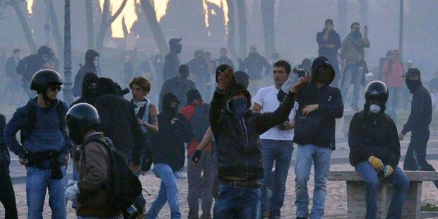 Millionenschäden in Rom