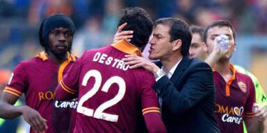 Roma gewinnt wieder - 2:1 gegen Fiorentina