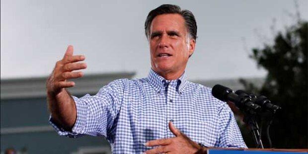 Romney: Amerika soll wieder Flagge zeigen
