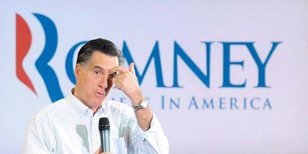 Romney-Rivalen läuft die Zeit davon