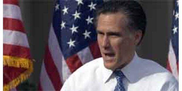 Romney gewinnt vor McCain in Michigan