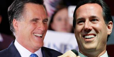 Mitt Romney Rick Santorum