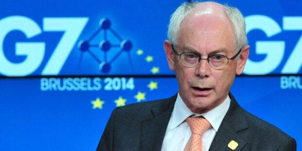EU: Van Rompuy erwartet Rückzieher Junckers