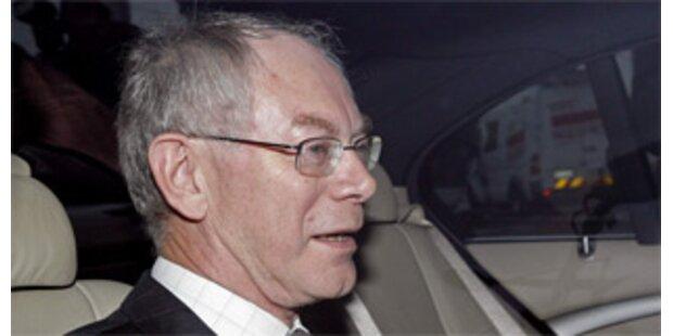 Van Rompuy soll Belgiens neuer Premier werden