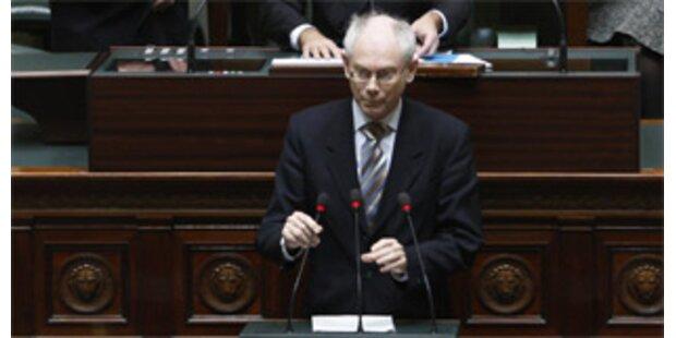 Neuer belgischer Premier kann Arbeit aufnehmen