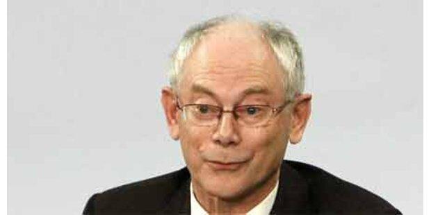 Van Rompuy - Liebling der Karikaturisten