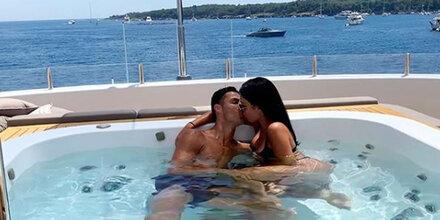 Ronaldo: So dekadent ist sein Liebesurlaub