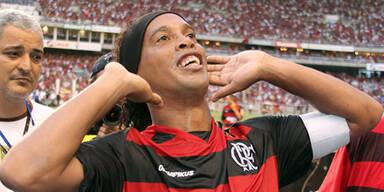 Ronaldinho feierte mit Flamengo Titel