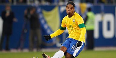 Ronaldinho wieder im Brasilien-Teamkader