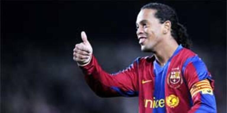Ronaldinho vor Wechsel nach Mailand