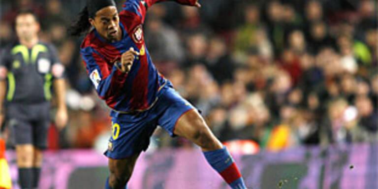 Ronaldinho ist 40 Millionen Euro wert