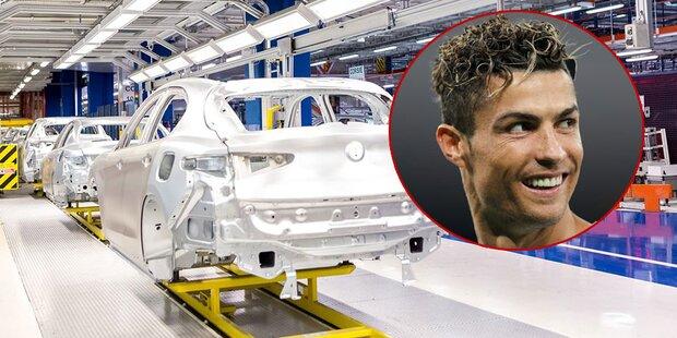 Ronaldo-Transfer legt Fiat-Produktion lahm