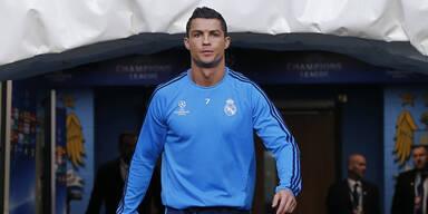 Real-Schock: Ronaldo fällt verletzt aus