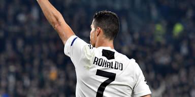 Ronaldo-Doppelpack bei Juve-Sieg