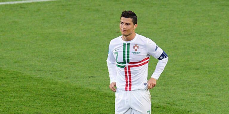 Ronaldo auch bei EURO in Messis Schatten