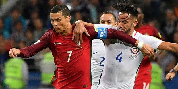 Ronaldo und Co scheitern an Chile