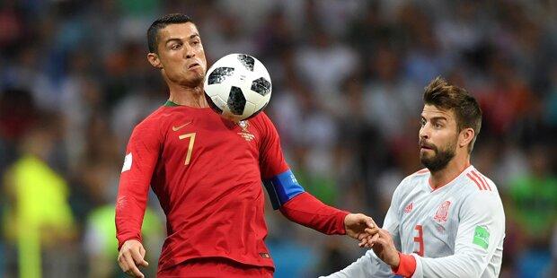 3:3! Irre Ronaldo-Show in Mega-Hit