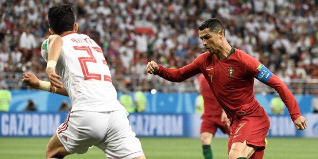 Ronaldo & Co. stolpern ins Achtelfinale