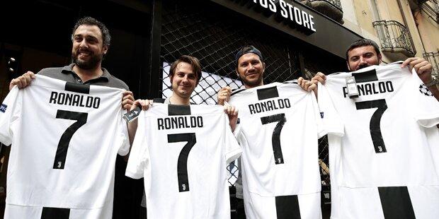 Ronaldo-Mania nimmt bizarre Züge an