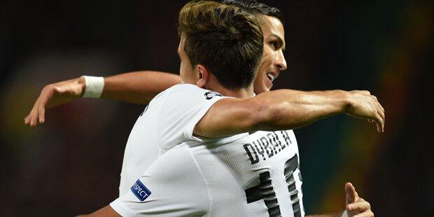 1:0 - Juve gewinnt Schlager gegen ManU