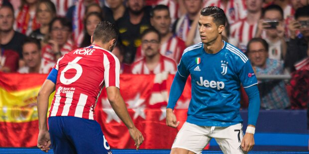 2:2 in Super-Hit zwischen Juve und Atletico