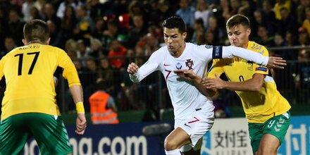 Viererpack! Ronaldo knallt sich zu Tor-Rekord