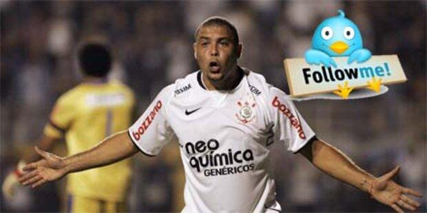 Stürmer Ronaldo kommentiert via Twitter