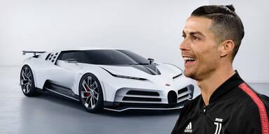 Ronaldo gönnt sich 9,5-Mio.-Euro-Bugatti