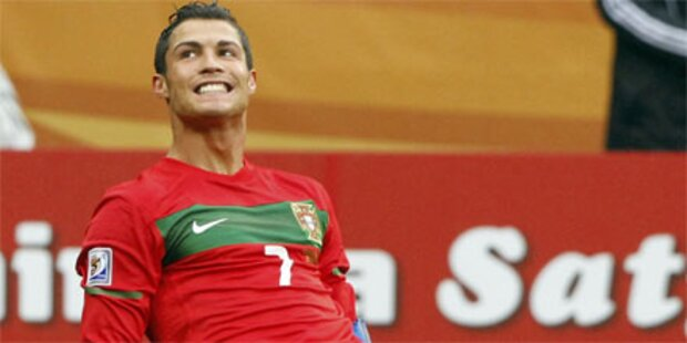 Ronaldo zum ersten Mal Vater