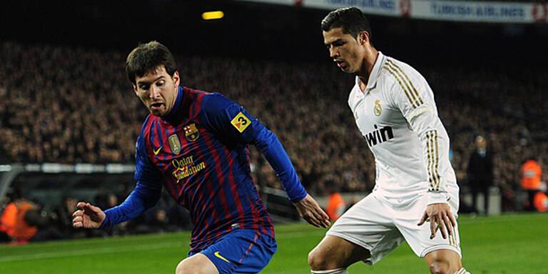 Ronaldo, Messi wieder Matchwinner