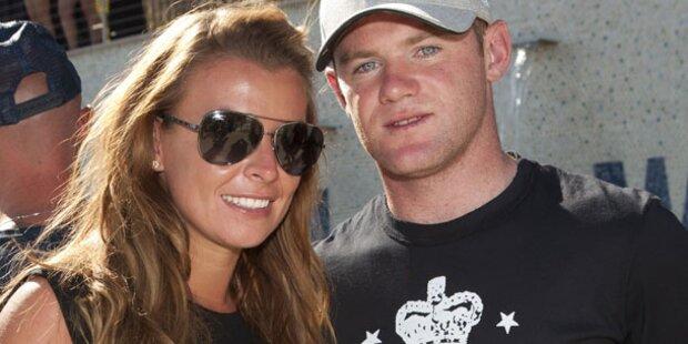 Wayne Rooney wird zum zweiten Mal Papa