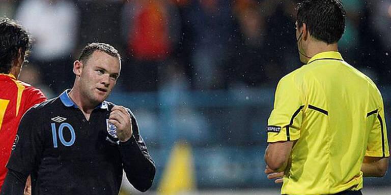 Rooney verpasst alle EM-Gruppenspiele