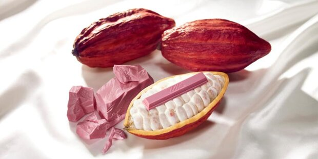 KitKat gibts jetzt bald auch in Rosa