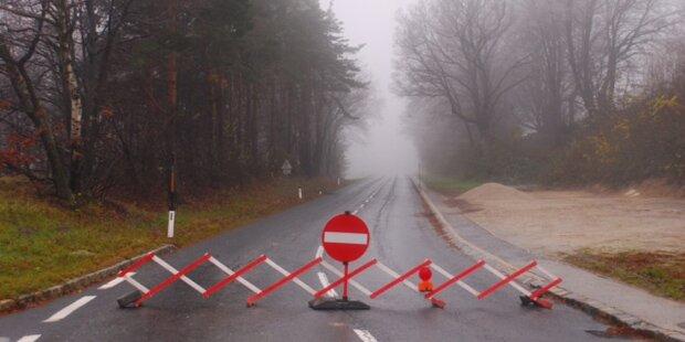 Forchtenstein Ortsteil weiterhin isoliert