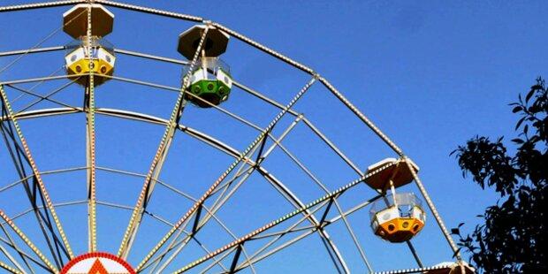 Riesenrad-Gondel abgestürzt: 2 Kinder tot