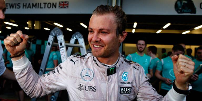 Mercedes-Pilot Rosberg will Österreich-Hattrick