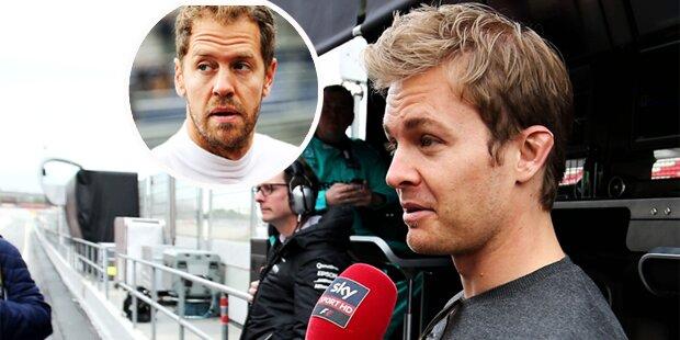 Nach Wutausbruch: Rosberg attackiert Vettel