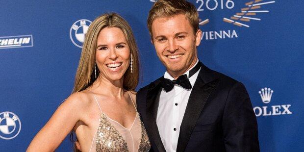 Nico Rosberg: Zweites Baby ist da